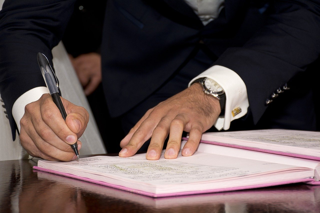 Signature de documents